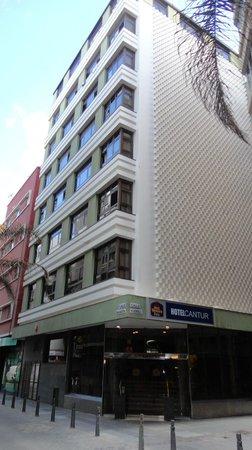 Cantur City Hotel : Hotel building