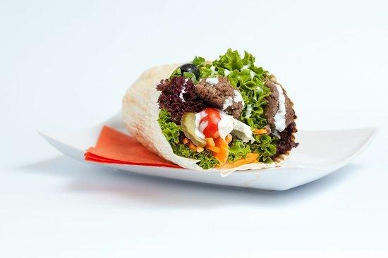 UP! Grade Your Food: American Burger Wrap