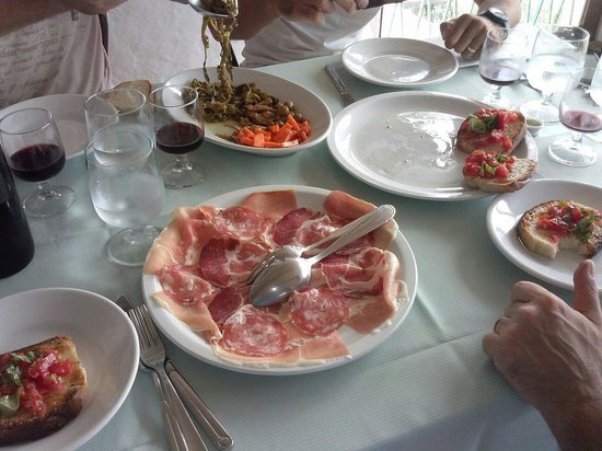 Sole Nascente: Antipasto