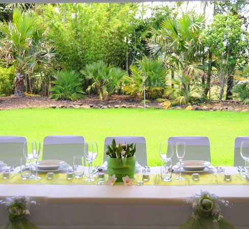 Palms Bistro and Venue: Your special day at the Palmco Garden Cafe