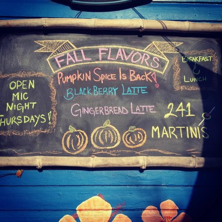 LeLu Coffee Lounge: Fall board