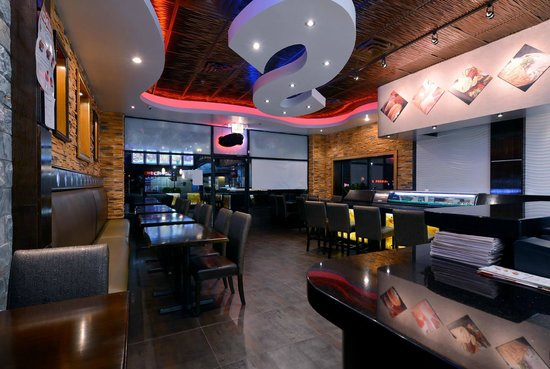 Interior picture of tang asian fusion copiague for Aura thai fusion cuisine new york ny