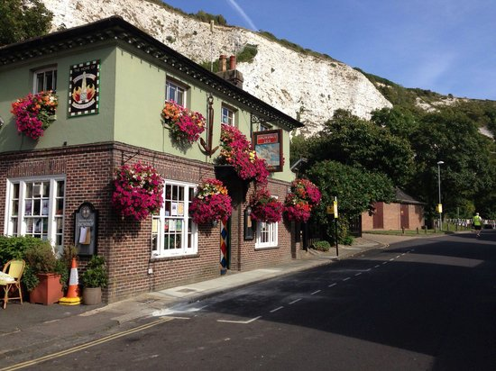 The Snowdrop: Not often seen without cars parked outside