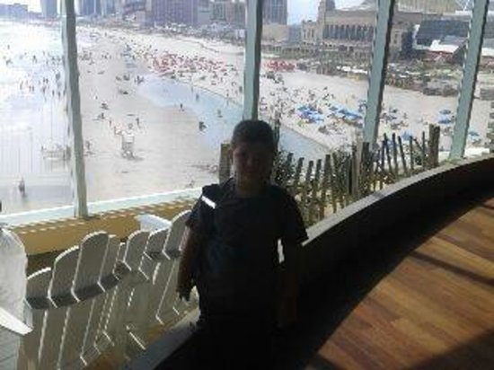 The Playground at Caesars: View  overlooking Beach and Boardwalk
