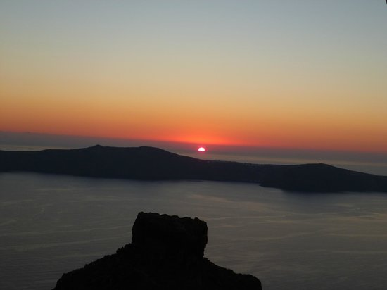 Mezzo Restaurant: Sunset view