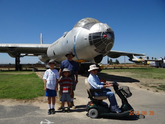 Castle Air Museum : B-36 - 28th Bomb Wing (Heavy)