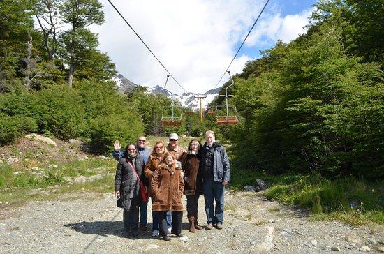 Ushuaia City Tour : CERRO CASTOR- ESTAÇÃO DE ESQUI