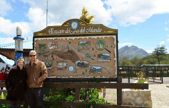 Ushuaia City Tour : TREM FIM DO MUNDO