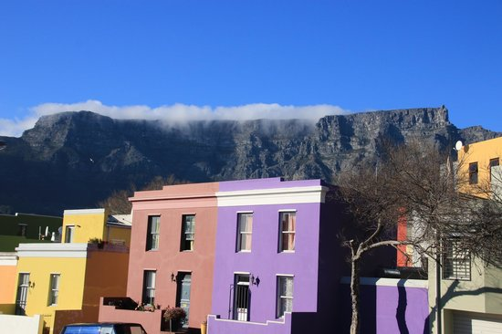 Photography Tours: Table Mountain from the Malay quarter