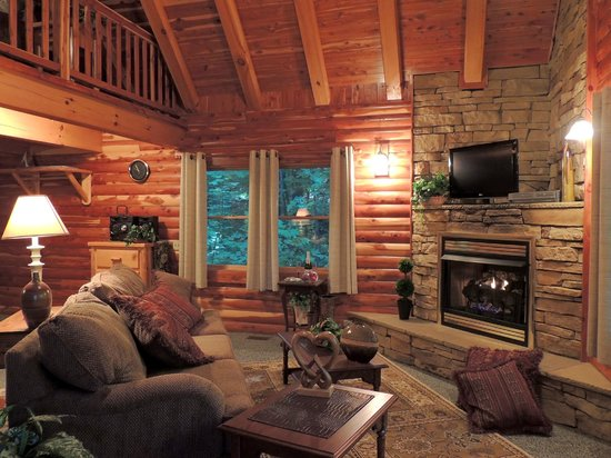 Donna's Premier Lodging: Cedar Log Cabin