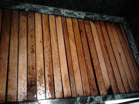 AC Hotel La Rioja: suelo de la ducha