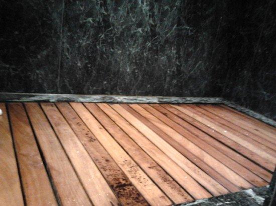 AC Hotel La Rioja: suelo de la ducha 2