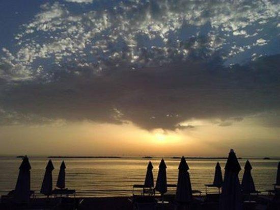 Bagno Meridiano : serata d'agosto