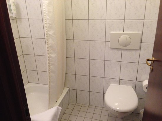 Fosshotel Baron: Toilet and Shower
