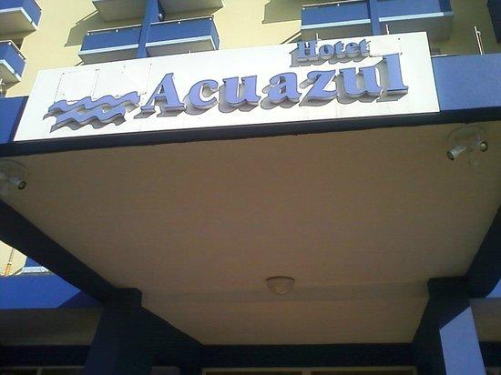 Hotel Acuazul: hotel