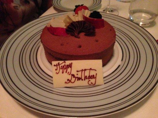 Bord Eau: Birthday surprise