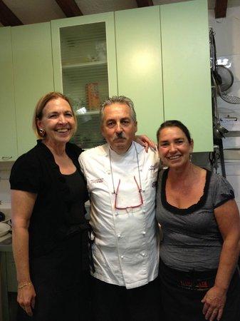 Casolare di Libbiano: Chef Carlo and Berta were wonderful teachers