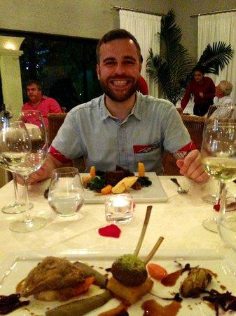 Bon Bon Restaurante: Lamb and Beef main courses