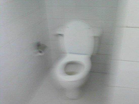 Hotel Acuazul: clean toilet