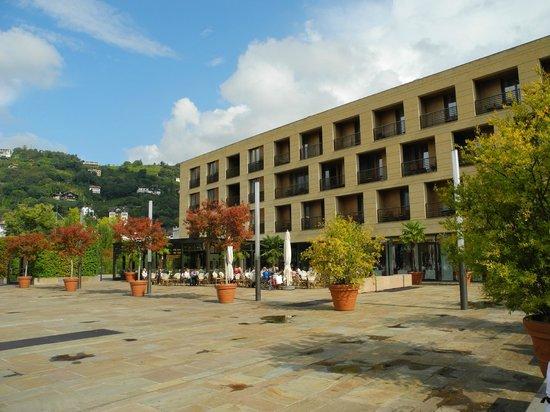 Hotel Terme Merano: Aussenansicht