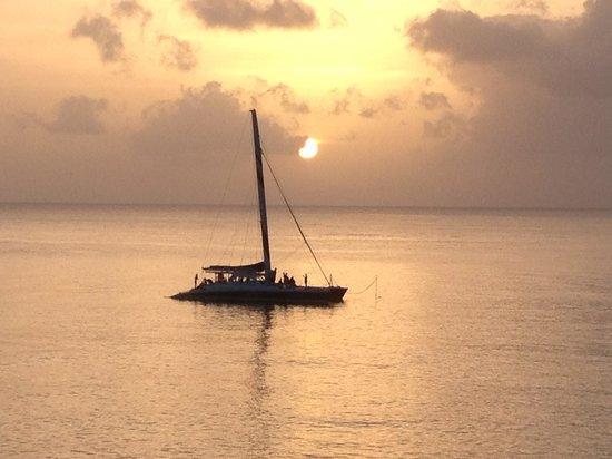 The St James: Sunset at Sandy Lane Beach