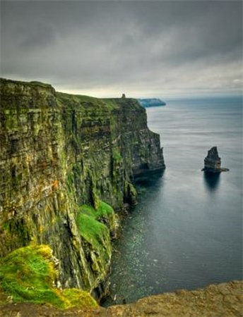 The Siding B & B : Cliffs shot from my time there...