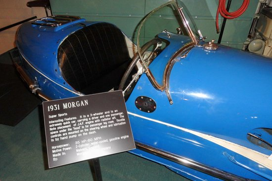 The Car and Carriage Caravan Museum: 1931 MORGAN