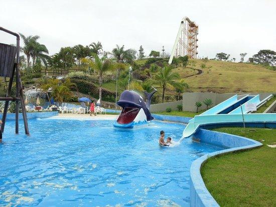 Aldeia das Aguas Park Resort: Vista do parque infantil