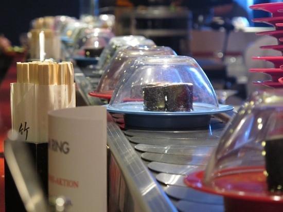 Sushi am Ring: Conveyor belt sushi