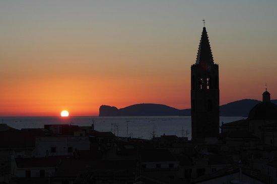 Villa Las Tronas Hotel  & Spa: Alghero sunset