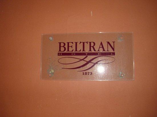 Hotel Beltran : nombre