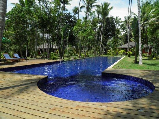 Hotel Vila dos Orixas: piscina de 25 mts de longitud y 1,3 m. de profundidad
