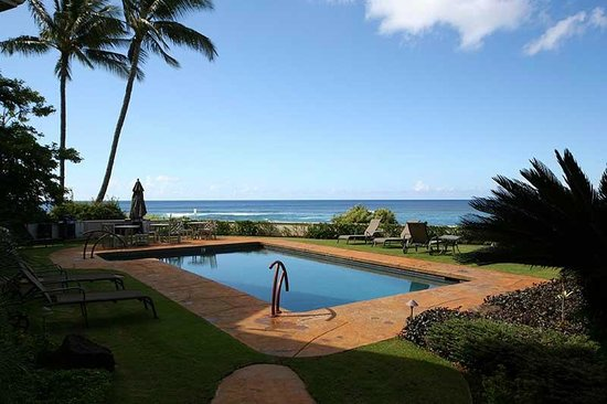 Alihi Lani Poipu Beach Oceanfront Condominiums: Ocean front luxury- views, views!