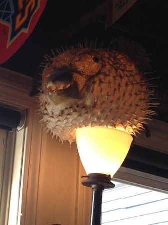 The Ramp Bar and Grill : lamp