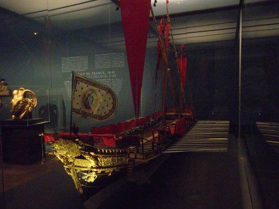 Musee de la Marine: maquette