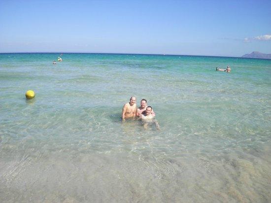 IBEROSTAR Albufera Park : Beach Area