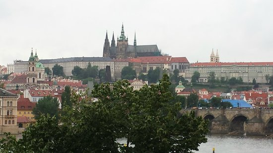 Bohemia Apartments Prague Old Town: Amazing landscape