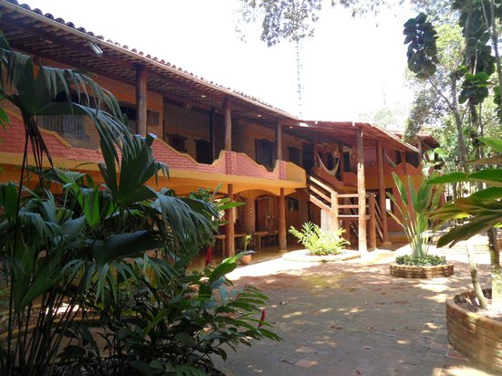 Travel Inn Village Arraial: Vista do páteo