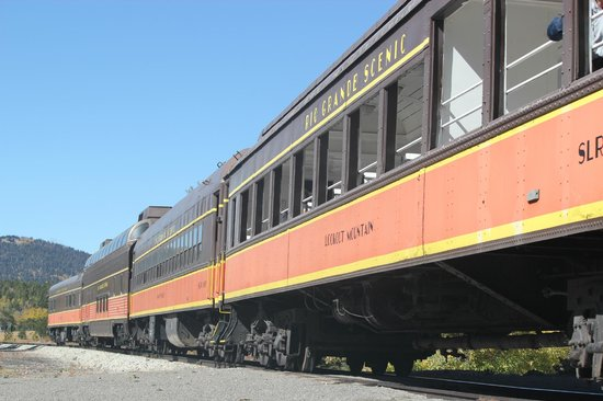 Rio Grande Scenic Railroad: Rail Cars
