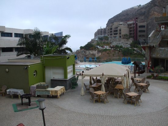 Hotel Terraza Amadores: Room View