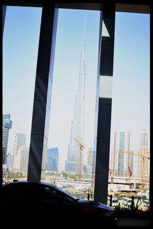 The Oberoi, Dubai: view of burj from hotel