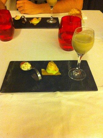 Finca Prats Hotel Golf & Spa: cositas para probar en la cena