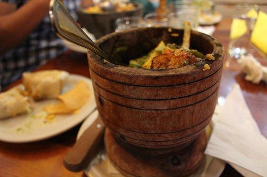 Salsa Mexican Caribbean Restaurant: Pom-Pom-Pom's