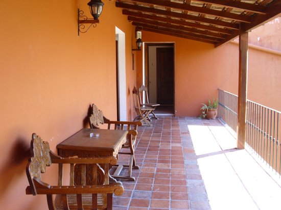Hotel Beltran: patio arriba