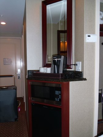Town & Country Inn and Suites : Refreshment area
