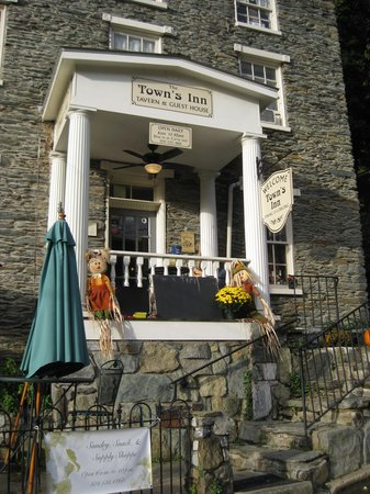 The Town's Inn : They left the light on for us