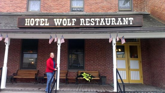 Hotel Wolf: exterior of hotel
