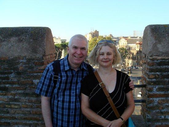 Ostia Tours - Ostia Antica Tours: Us at the start of our tour at Porta San Paolo