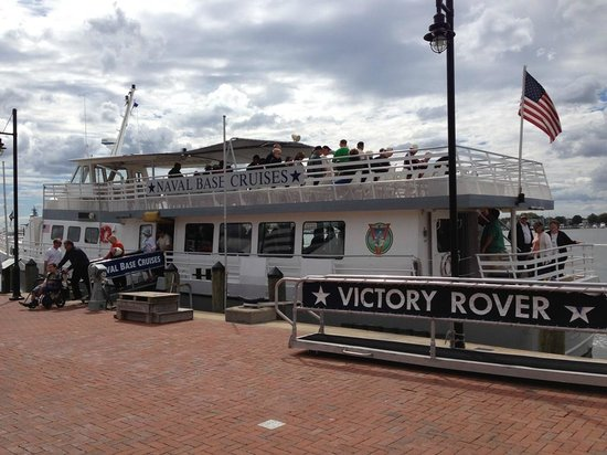 Nauticus: The Victory Rover provides two-hour tours of the Norfolk Naval Base and harbor areas