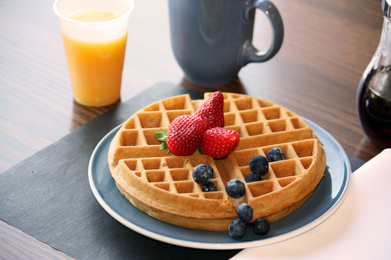 Comfort Inn - New Glasgow: Fresh Waffles